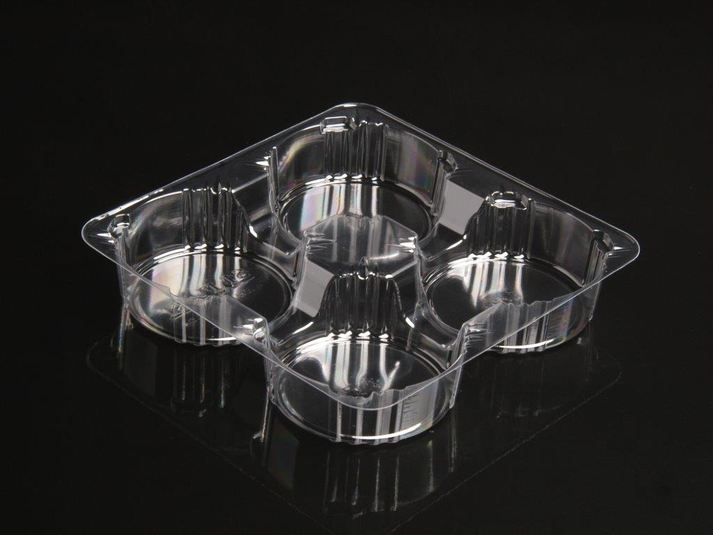 Tray for 4 round cakes